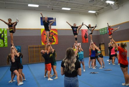 Le cheerleading prend beaucoup d'expansion en Beauce-Etchemins